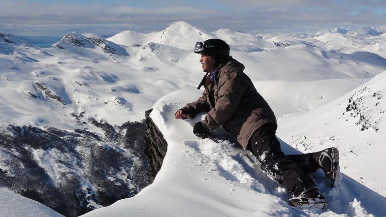 Top of Castor, Cerro Castor