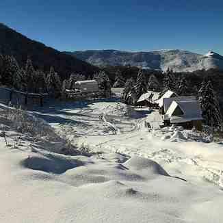 Plenty of snow in November, Brezovica