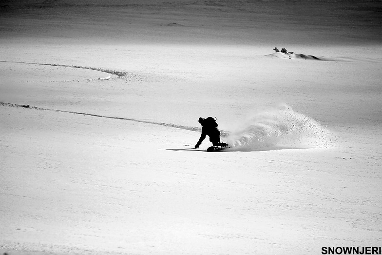 Black and white curve, Brezovica