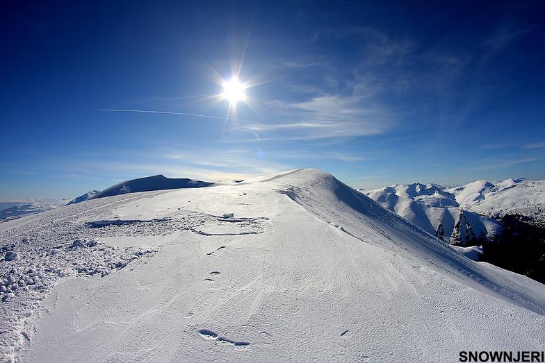 Pure summit of Cerepashina, Popova Shapka