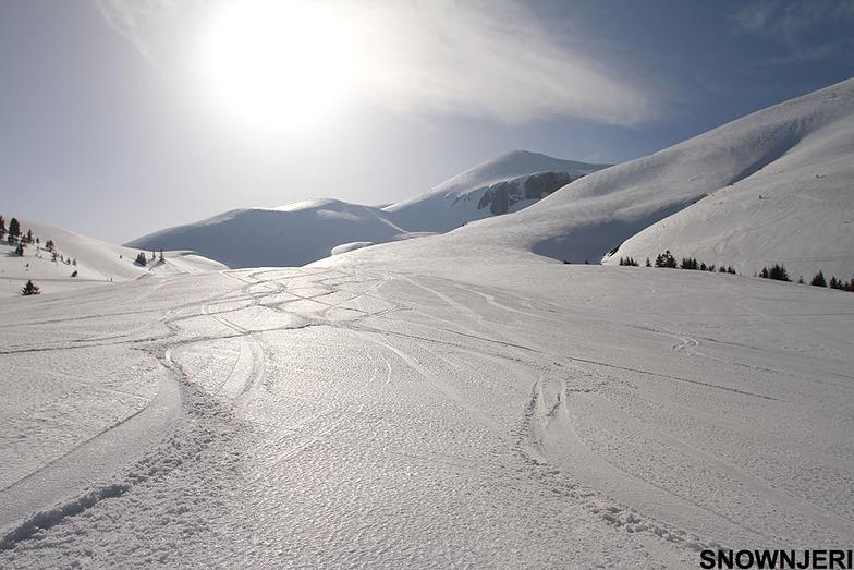 Silver slope, Popova Shapka