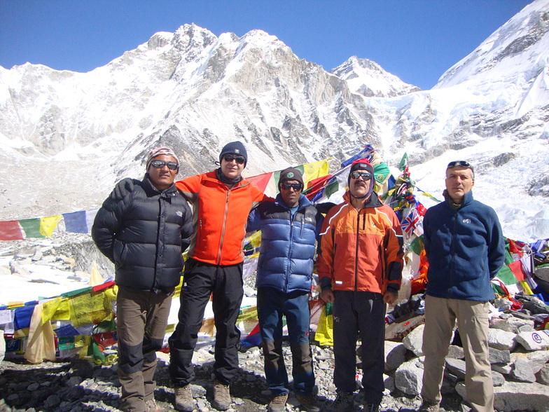 Base Camp of Everest, Mount Everest
