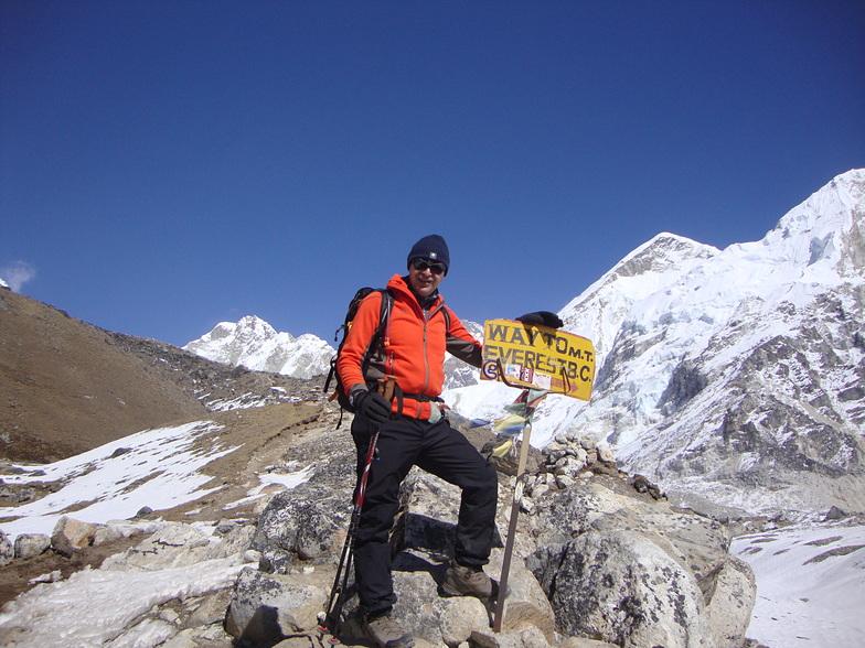 Way to Everest Basecamp, Mount Everest