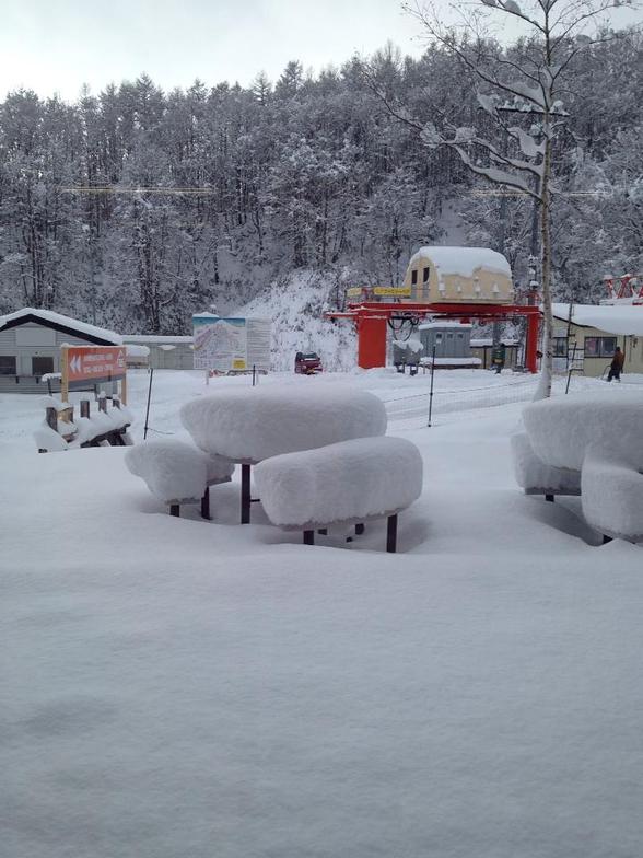Early snow dump, Niseko Grand Hirafu