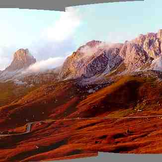 Passo Giau near Cortina d'Ampezzo