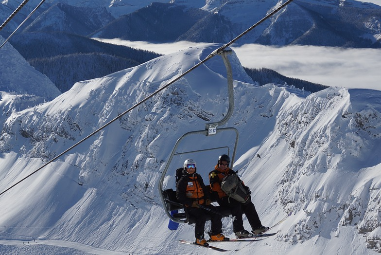 Polar Peak Chair & Curry Headwall, Fernie