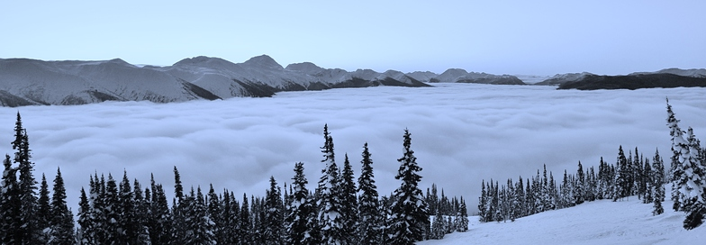 over the cloud, Powder King