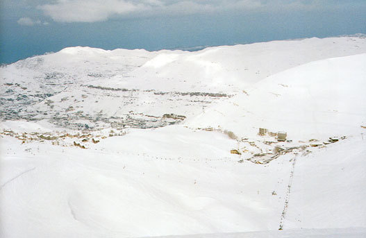 Faraya Nabil corridor and SEAVIEW, Mzaar Ski Resort