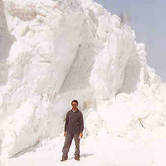 Faraya snow drifts, Mzaar Ski Resort