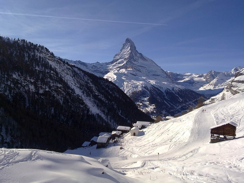 View from Findeln, Zermatt