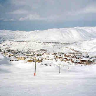 Faraya top of Refuge Slopes, Mzaar Ski Resort
