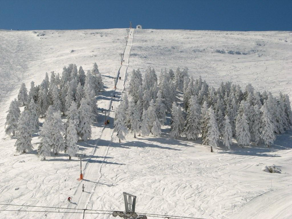 new snow, Kalavryta Ski Resort