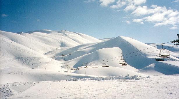 Faraya-Mzaar-top-lift, Mzaar Ski Resort