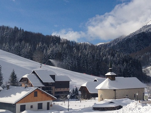 Aillons-Margeriaz Ski Resort by: Blanchot