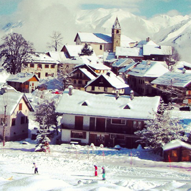 Village of Albiez-Montrond (Chef-lieu)