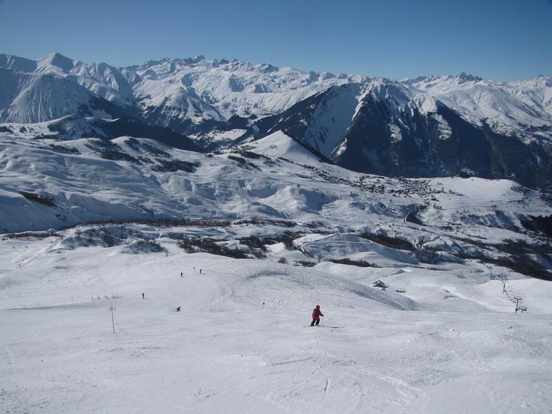 Albiez-Montrond snow