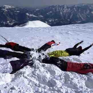 Montecampione fun in snow