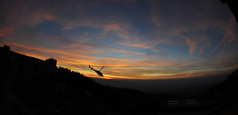 Sunset in Muntele Mic - Romania