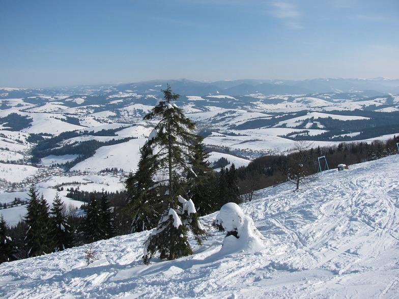 Podobovets snow