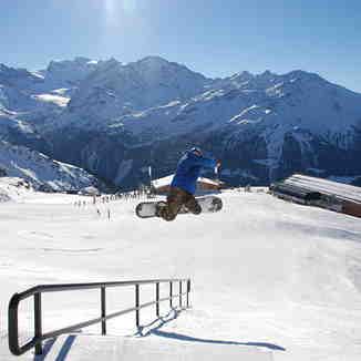 Vivid Snowboarding, Verbier