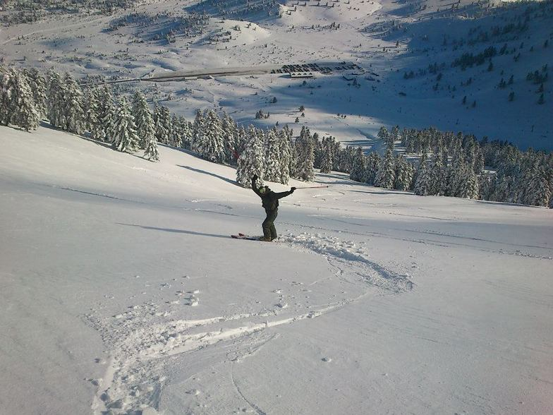 Powder Day, Kalavryta Ski Resort
