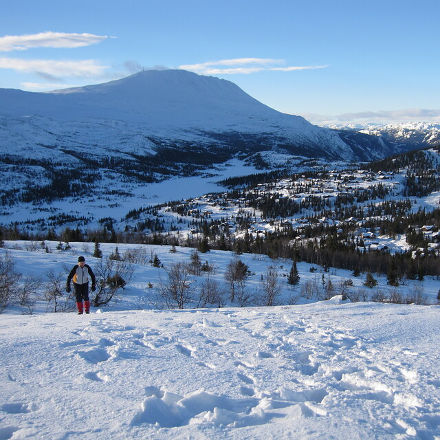 Crosscontry skiing, Gaustablikk