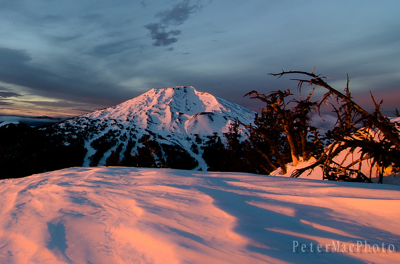 Mt. Bachelor Sunrise, Mt Bachelor