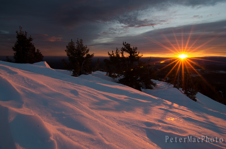 three minutes of glow..., Mt Bachelor