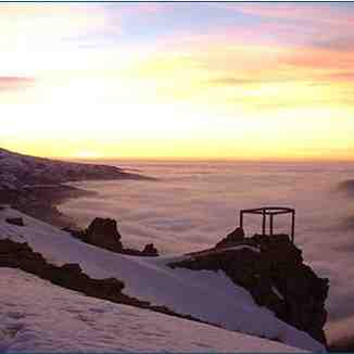Another view of the sunset at 3000m, Cedars