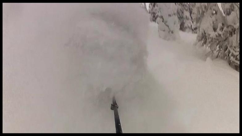 Above Elevator shaft, Powder King