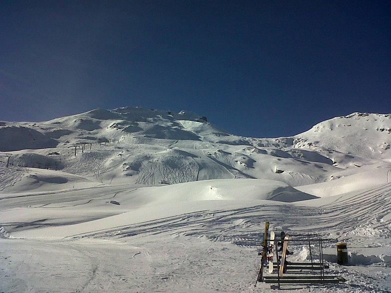 Madesimo snow