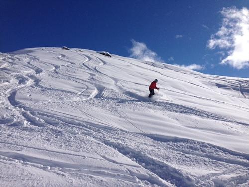 St Martin de Belleville Ski Resort by: Helen Raemers