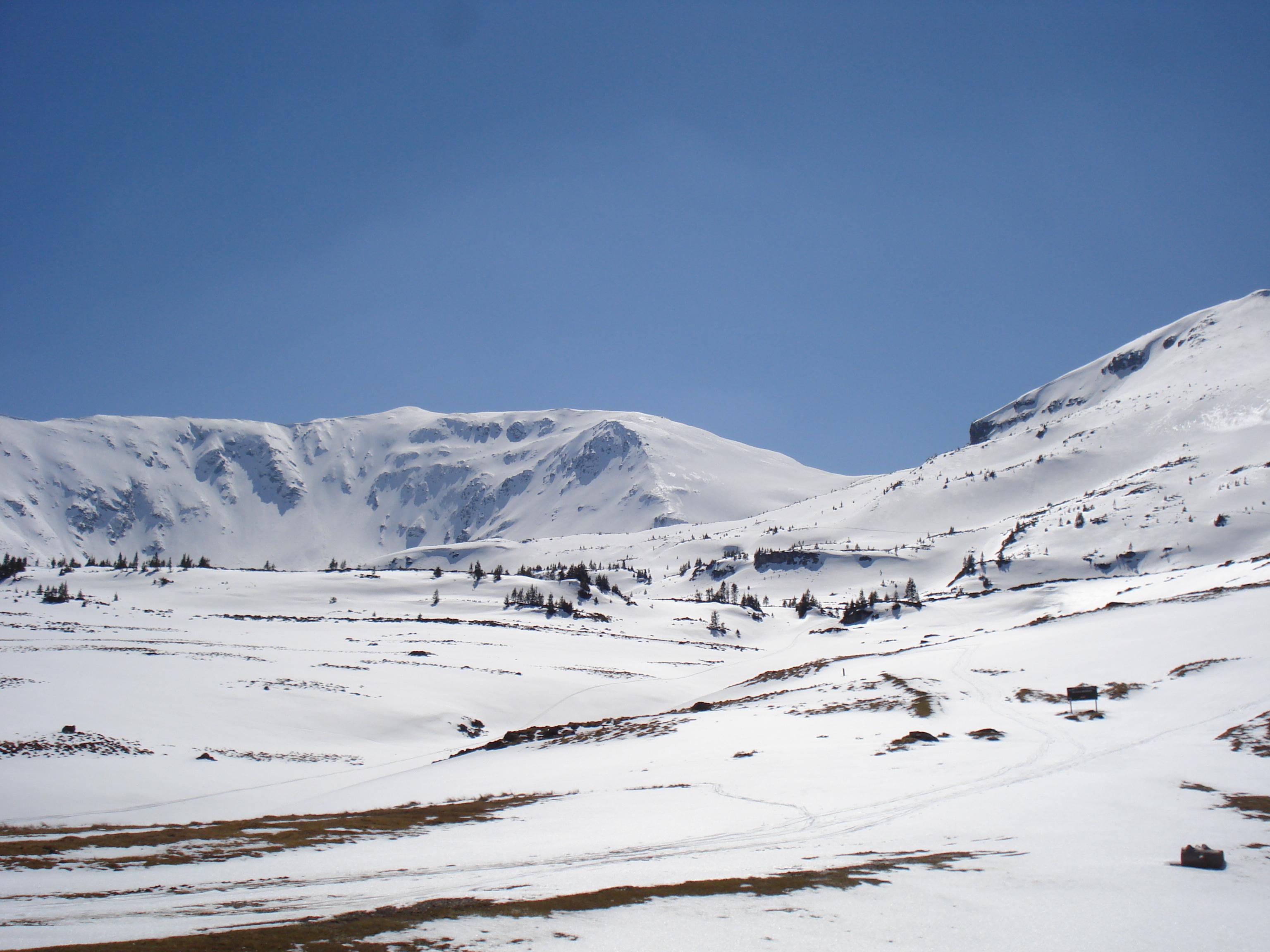 Gargalau summit,Rodnei Mountains, Borşa