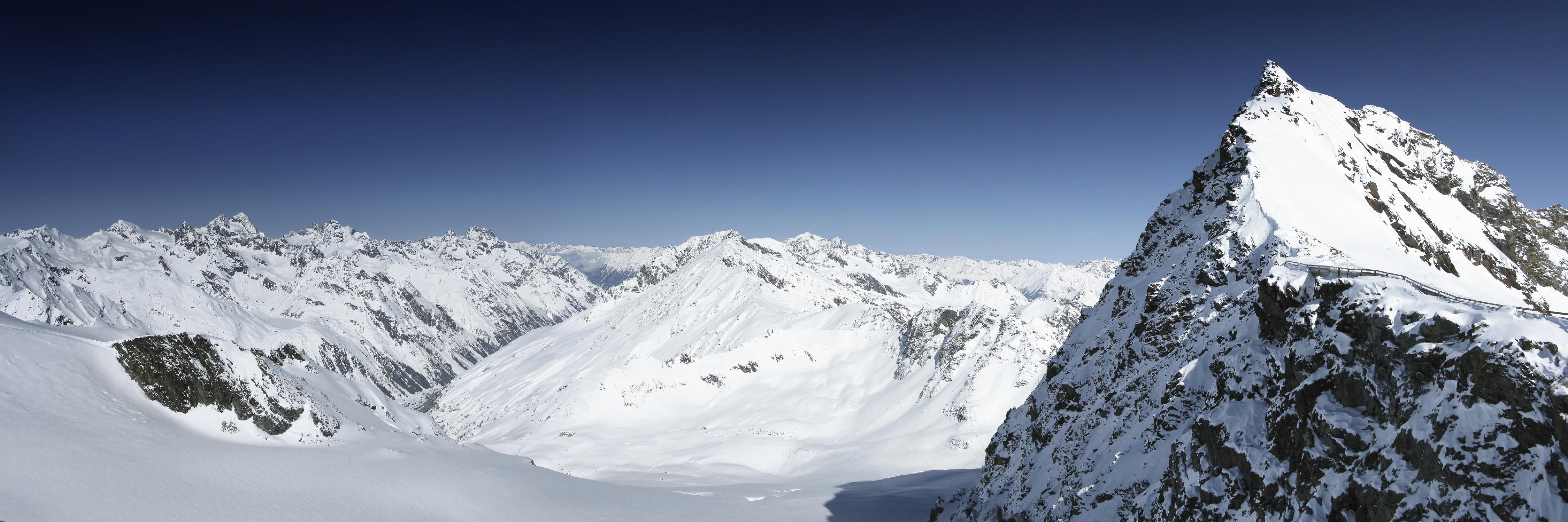 Tiefenbach Glacier, Sölden