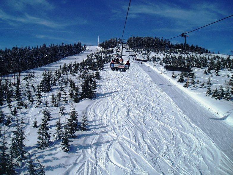 Horní Mísečky - Medvědín snow