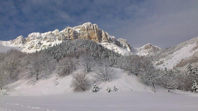 Gresse en Vercors snow