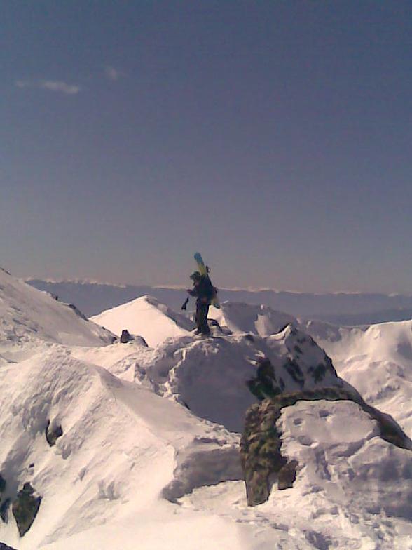 On our way to the top., Bansko