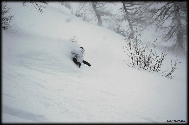Ovronnaz snow