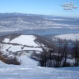 Kilátás az 1-es pálya tetejéről, Hungary