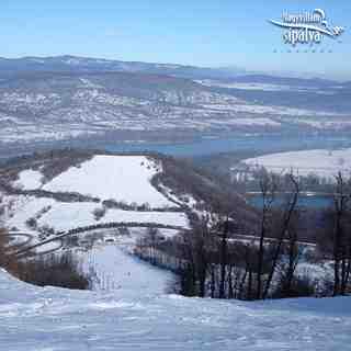Kilátás az 1-es pálya tetejéről, Visegradi-Nagy-Villám