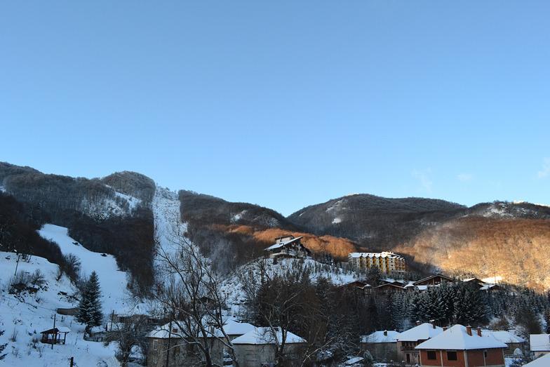 Mavrovo ski slopes, Resort Mavrovo