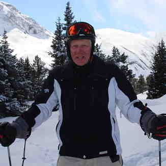 JD  in  The Powder   ,  april 2013 ., Courchevel