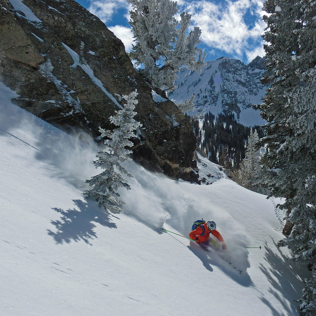 POW! in Grizzly Gulch, Alta