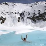 "Radim Palan ""swimming"" Kaunertal, Austria"