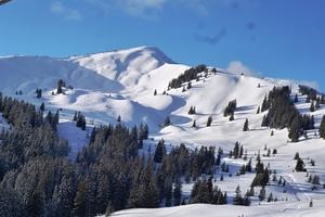 Snowy peaks in Grasgehren, Grasgehren/Bolgengrat photo