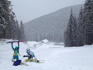 fresh snow, Buscat Ski & Summer Resort photo