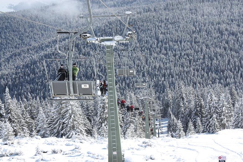 Chair lift, Buscat Ski & Summer Resort