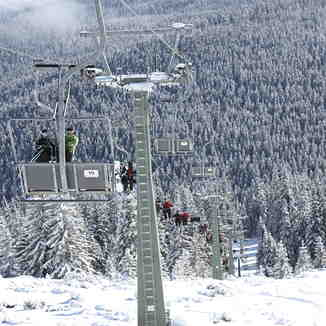Chair lift, Buscat Ski & Summer Resort