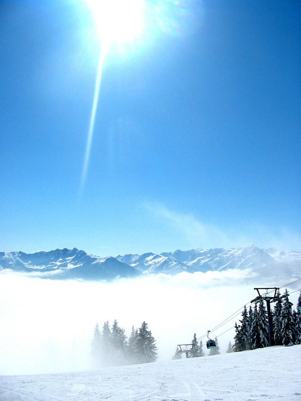 Zell am See in the morning