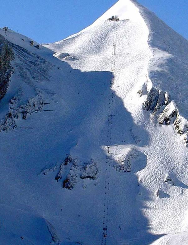 Obertauern, missed the top